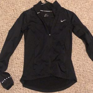 Black workout jacket Nike